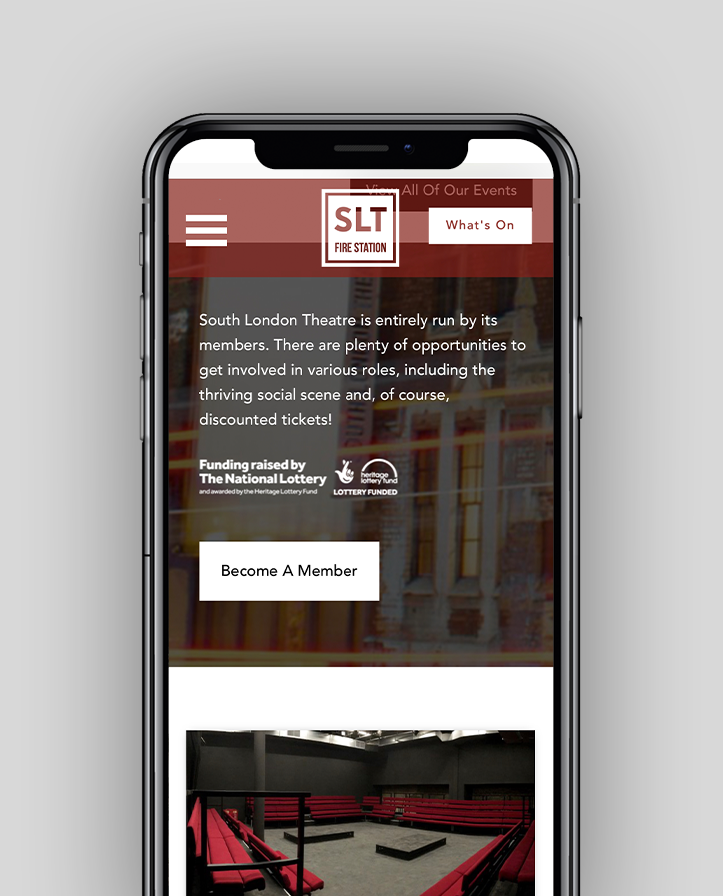 SLT Responsive Mobile Web Design London