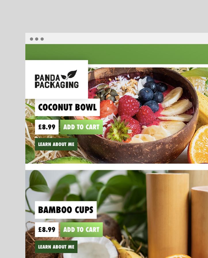 Panda Packaging Logo Design